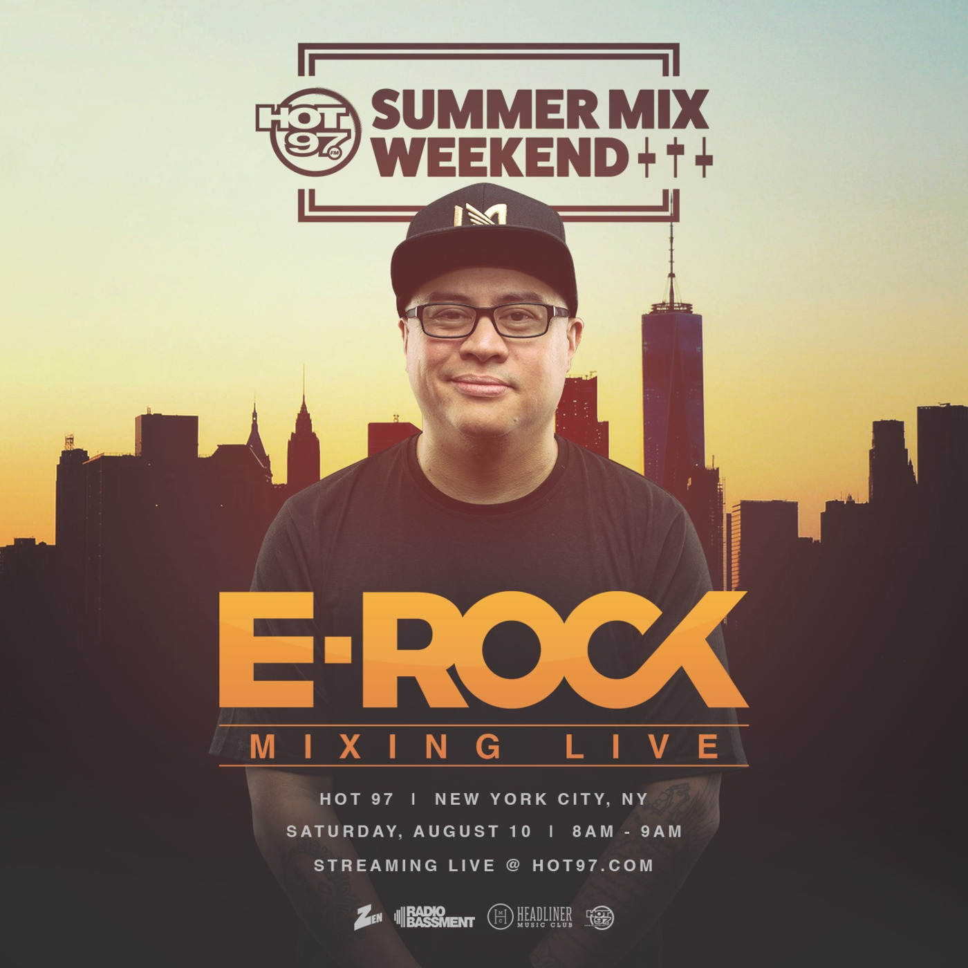 SPECIAL EPISODE *** DJ E-ROCK - HOT 97 NYC SUMMER MIX