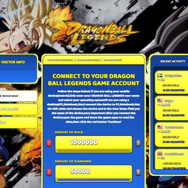 dragon ball legends hack android