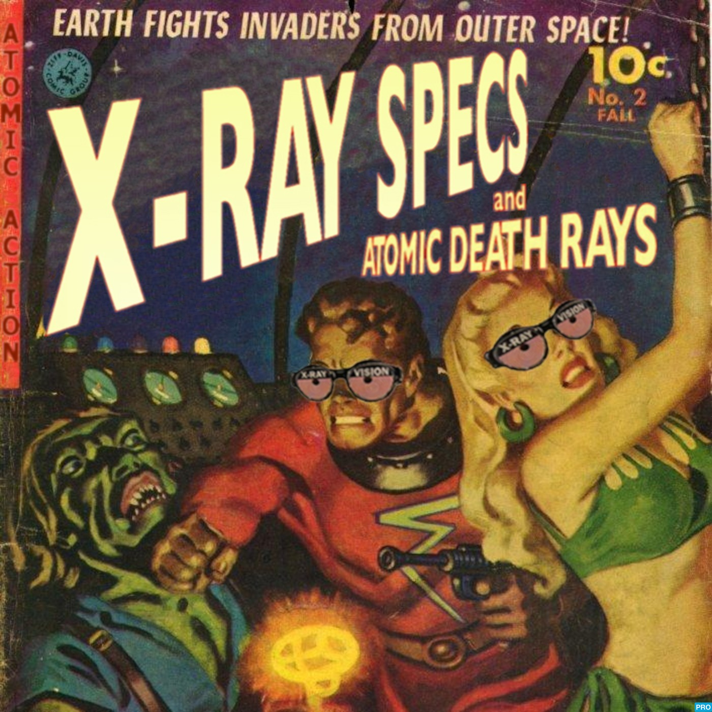 X-ray Specs and Atomic Death Rays