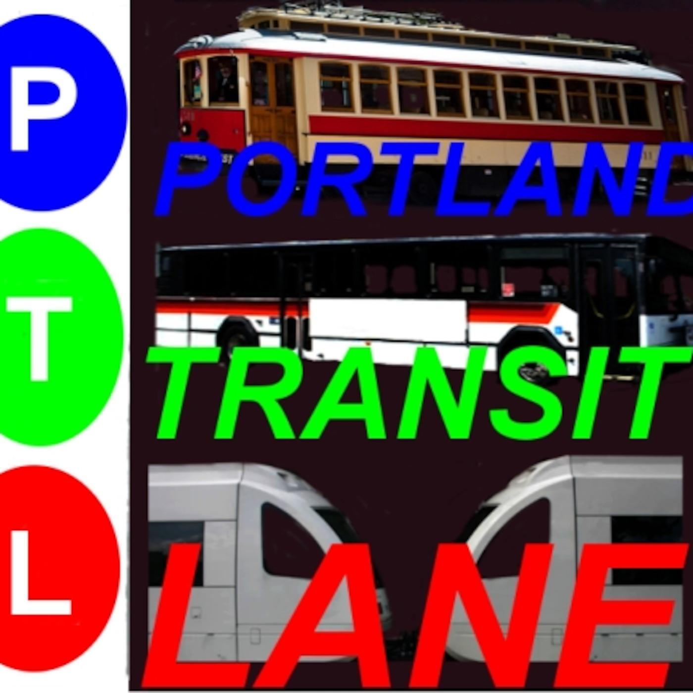 Portland Transit Lane