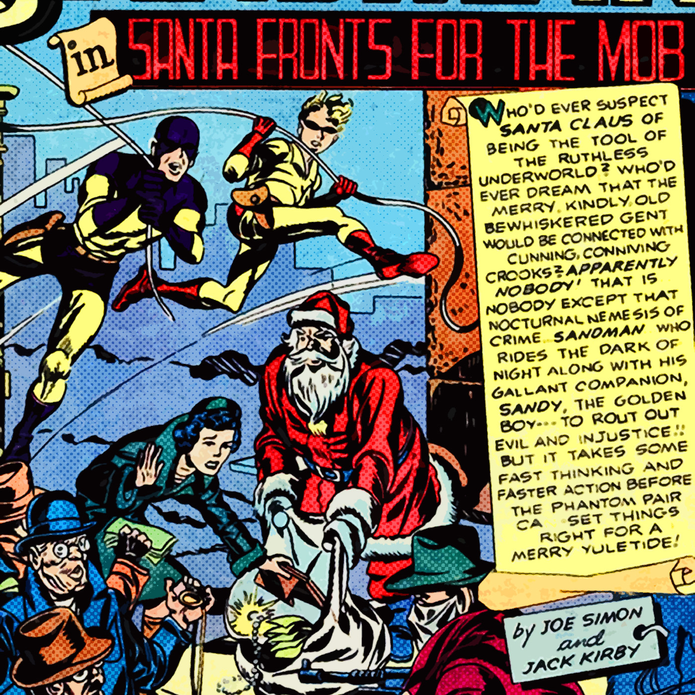 Mini Episode 41: A Sandman Christmas Comics In The Golden Age podcast