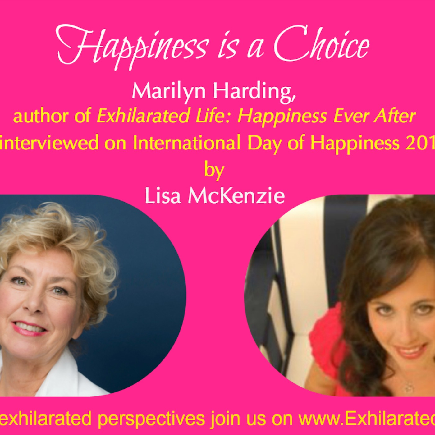 Exhilarated Life with Marilyn Harding