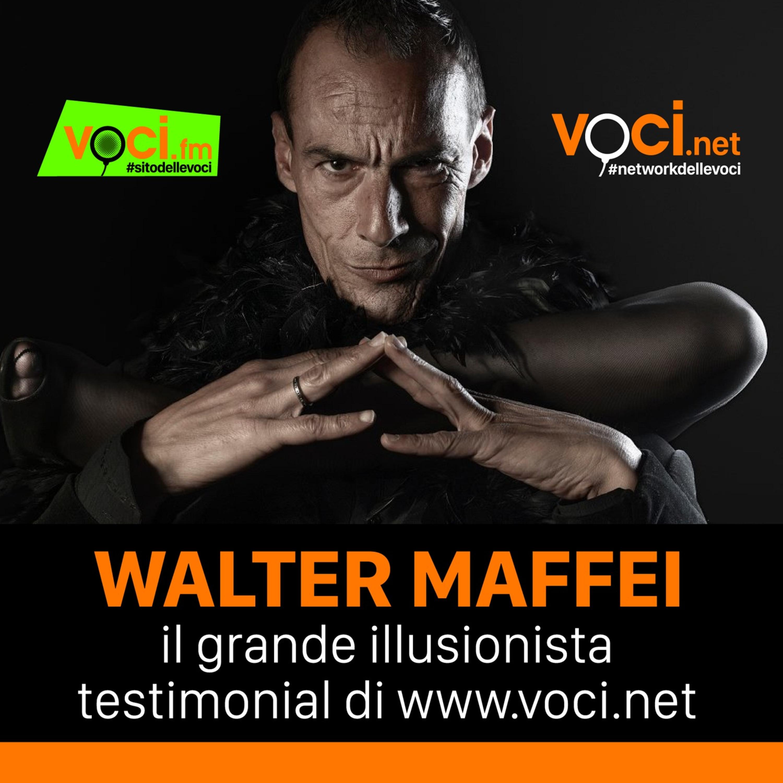 E' Walter Maffei il testimonial di VOCI.net