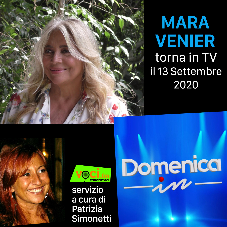 Mara Venier su VOCI.fm riparte Domenica In