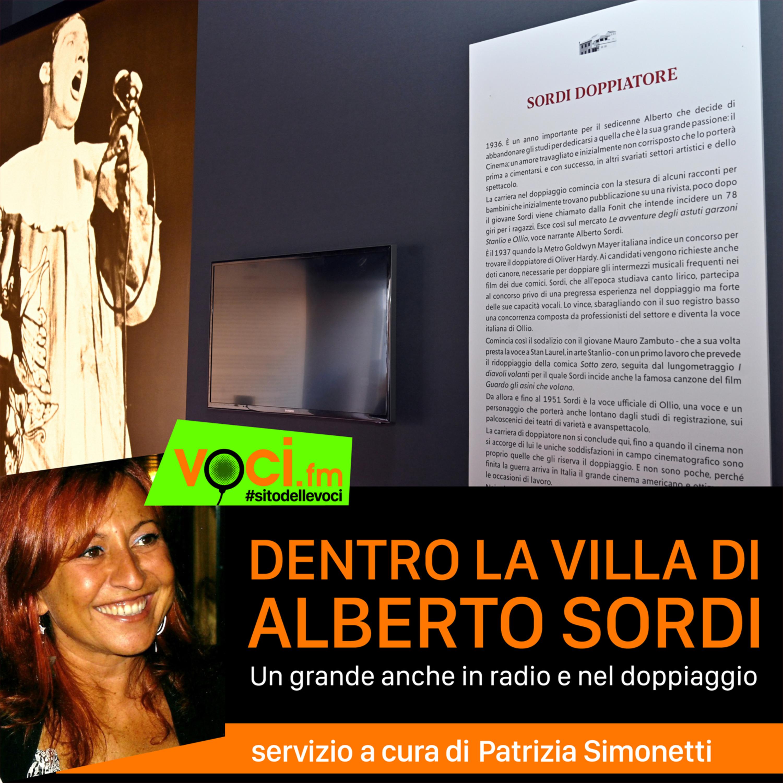 Dentro la villa di Alberto Sordi