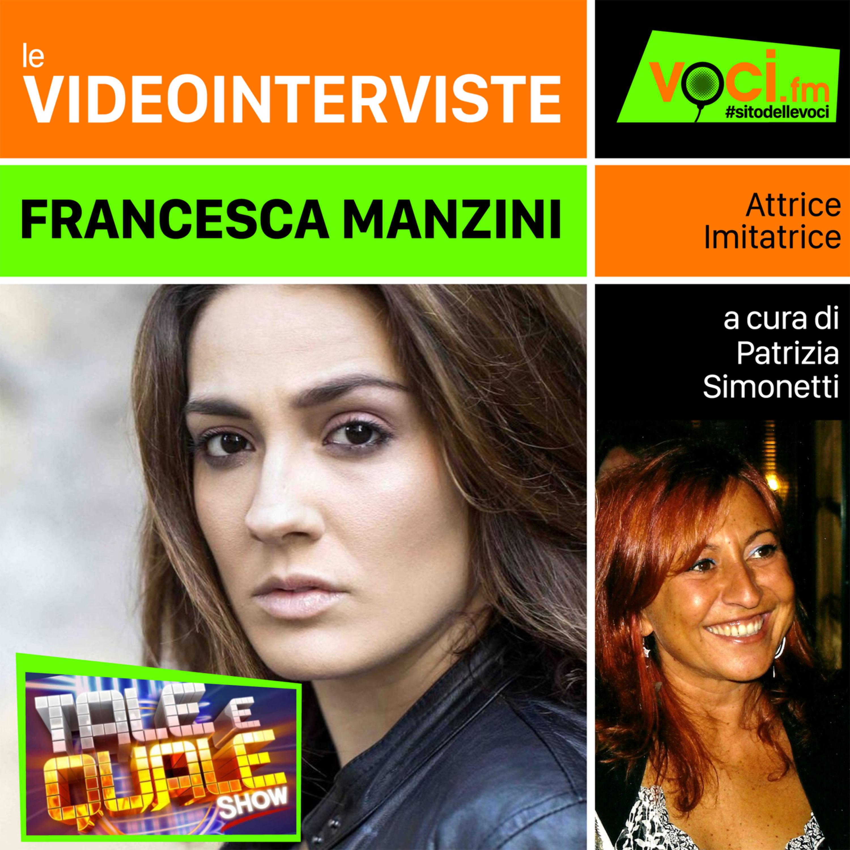 "Francesca Manzini a ""Tale e Quale Show"""