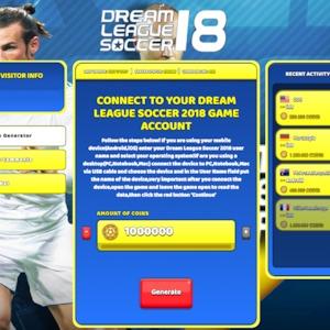 Dream League Soccer 2018 Hack Cheat Generator Coins Unlimited