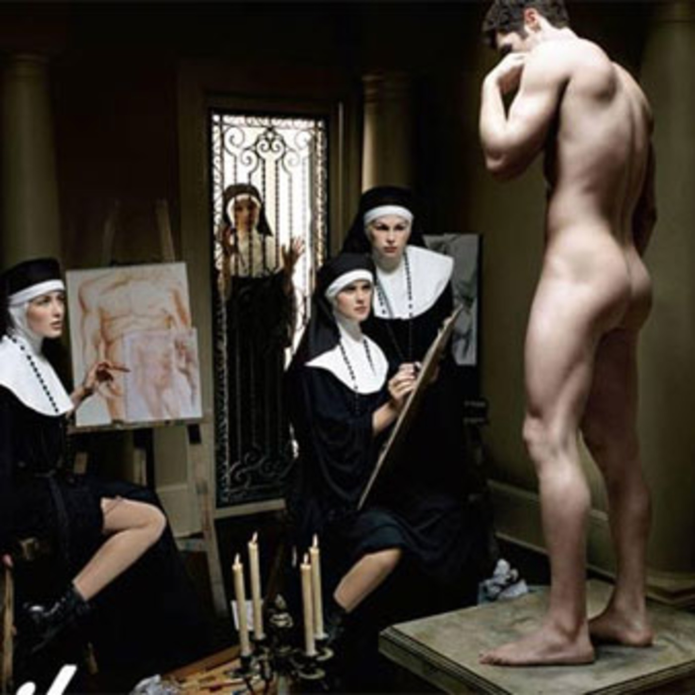 Nude catholic art erotic thumbs