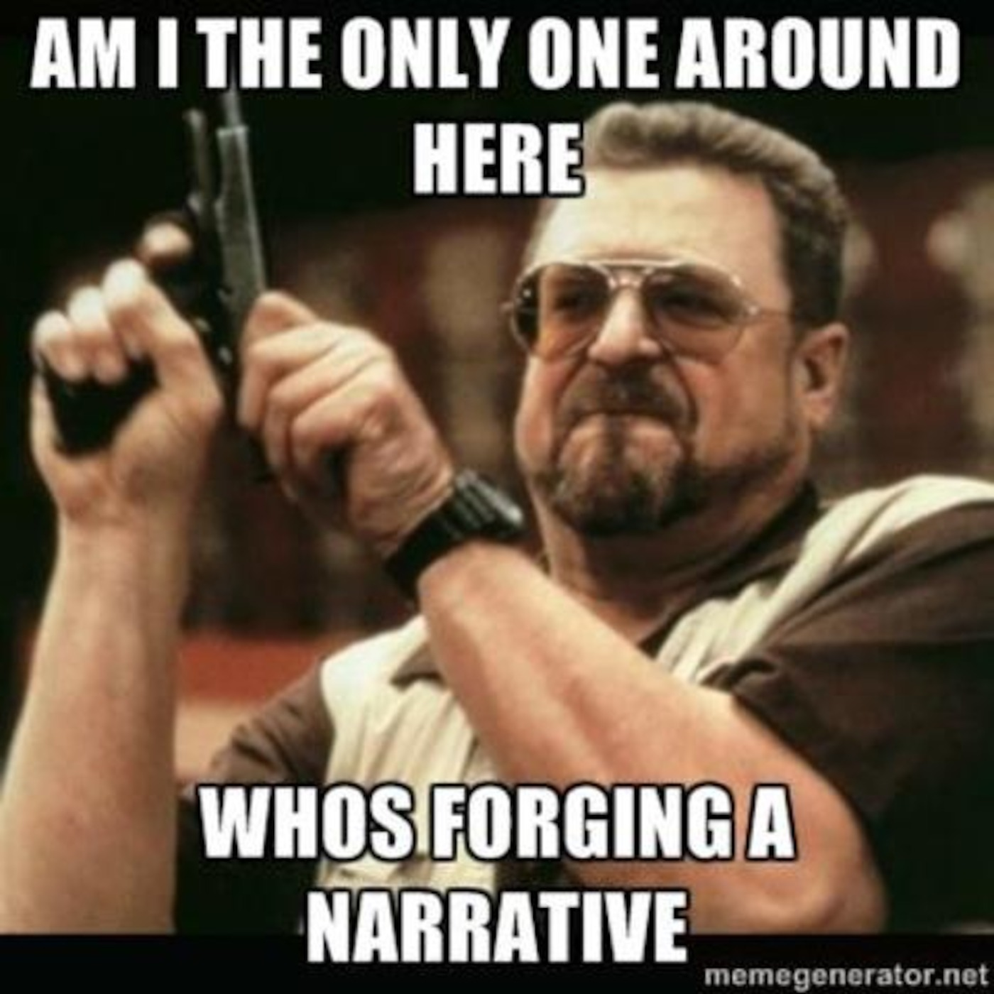 Forging the Narrative