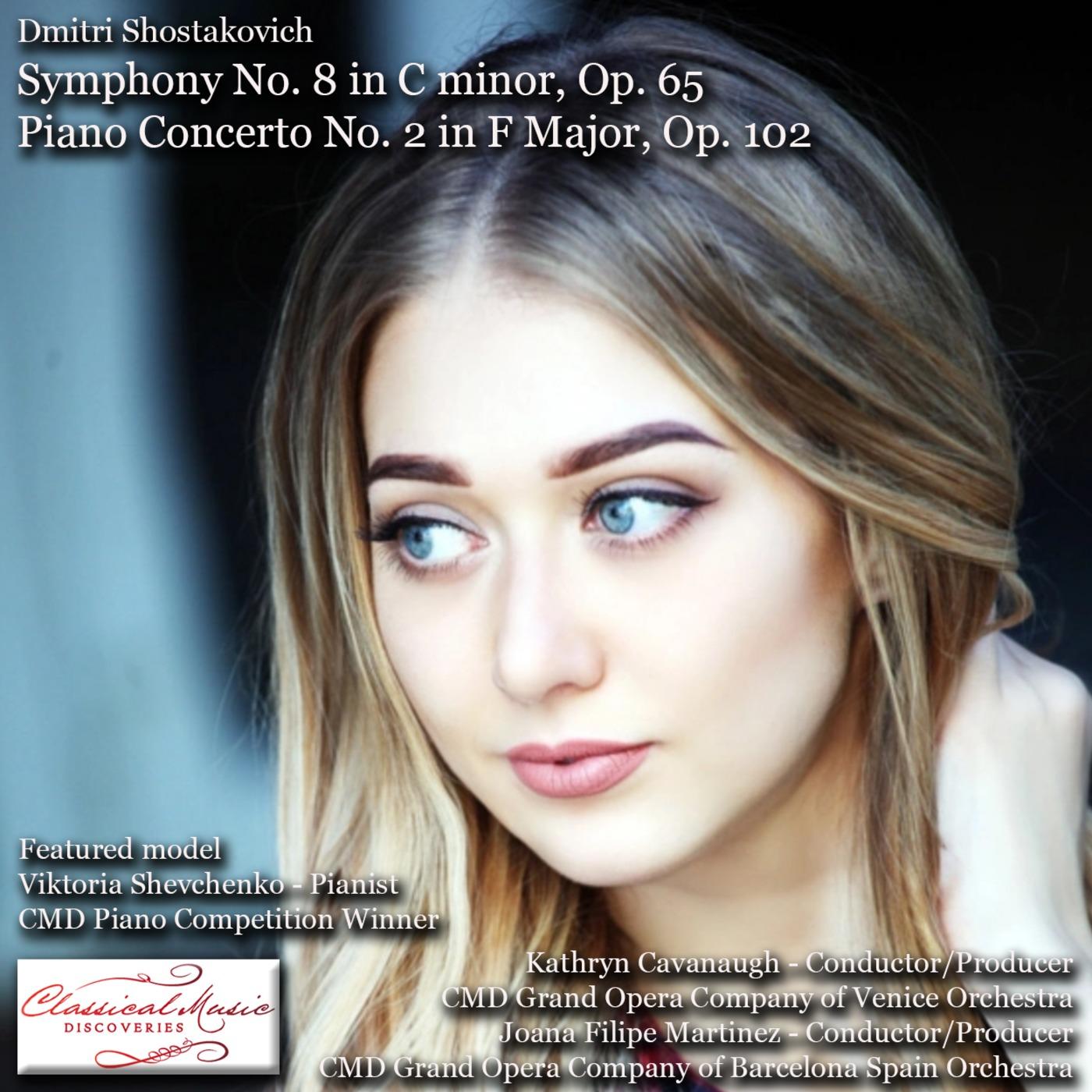 15116 Shostakovich - Symphony 8 And Piano Concerto 2 Classical Music