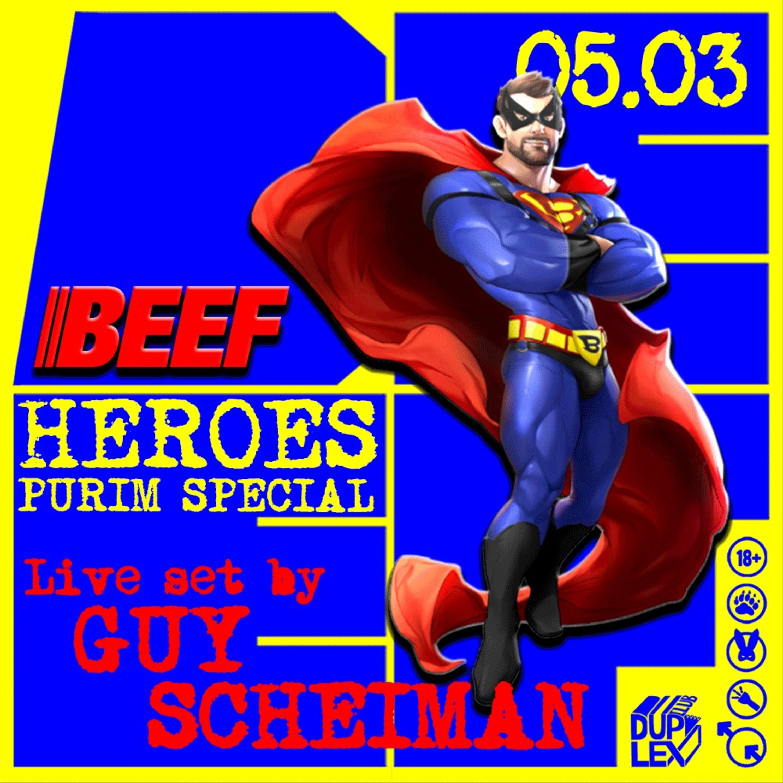 Beef Heroes Purim Event Live By Guy Scheiman
