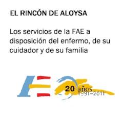 Los servicios de la FAE a disposición del enfermo, de su cuidador y de su fam...