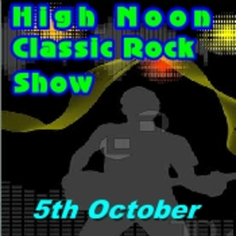 High Noon Classic Rock Show 5th October Colin John's Radio