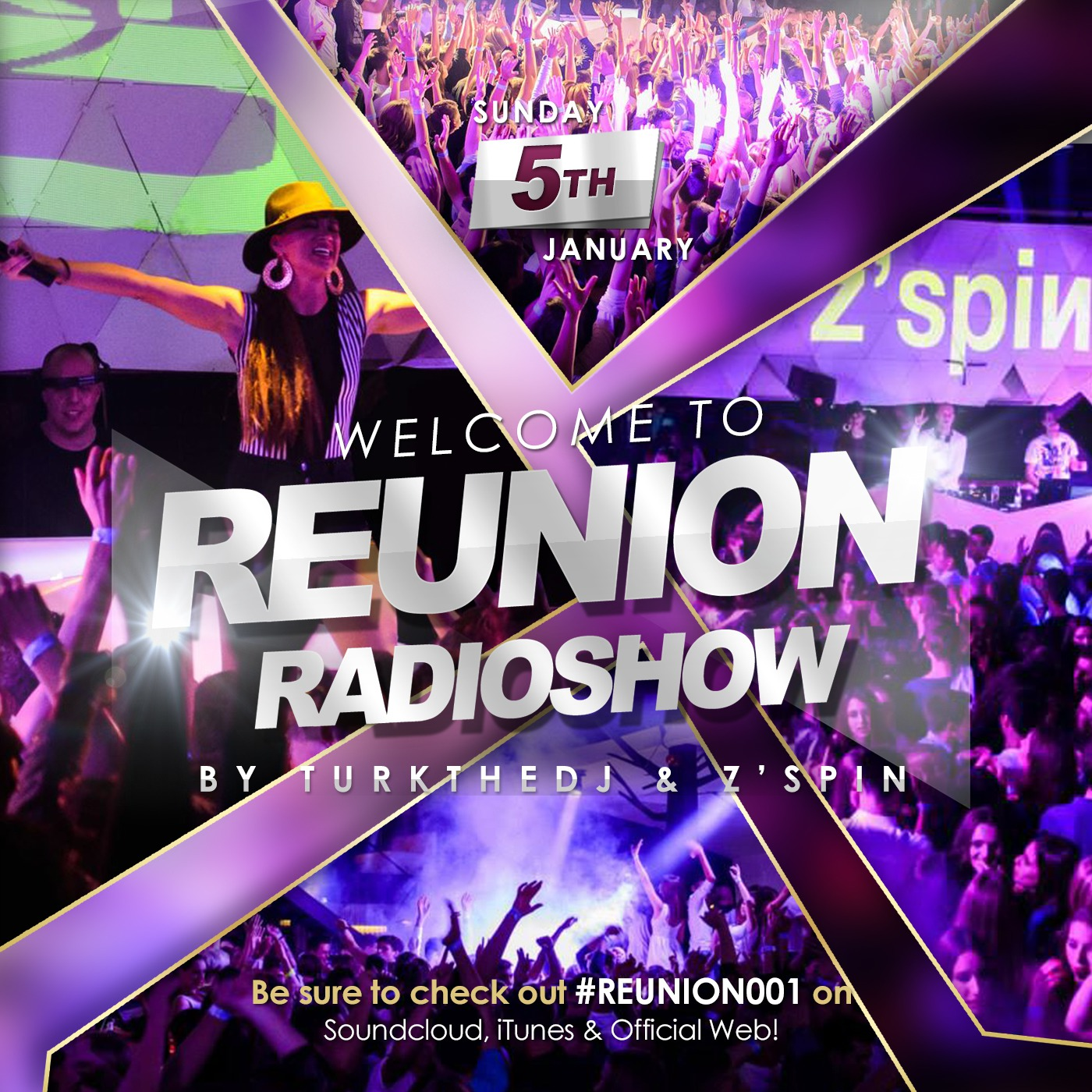 Reunion Radioshow by Turkthedj & Z'Spin