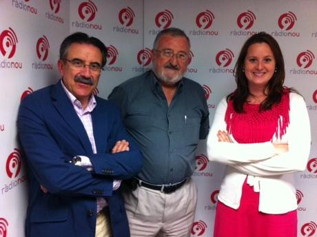 Entrevista en Radio 9 a Paco Cobacho (Novaterra) y Elena Lluch (AVIA)