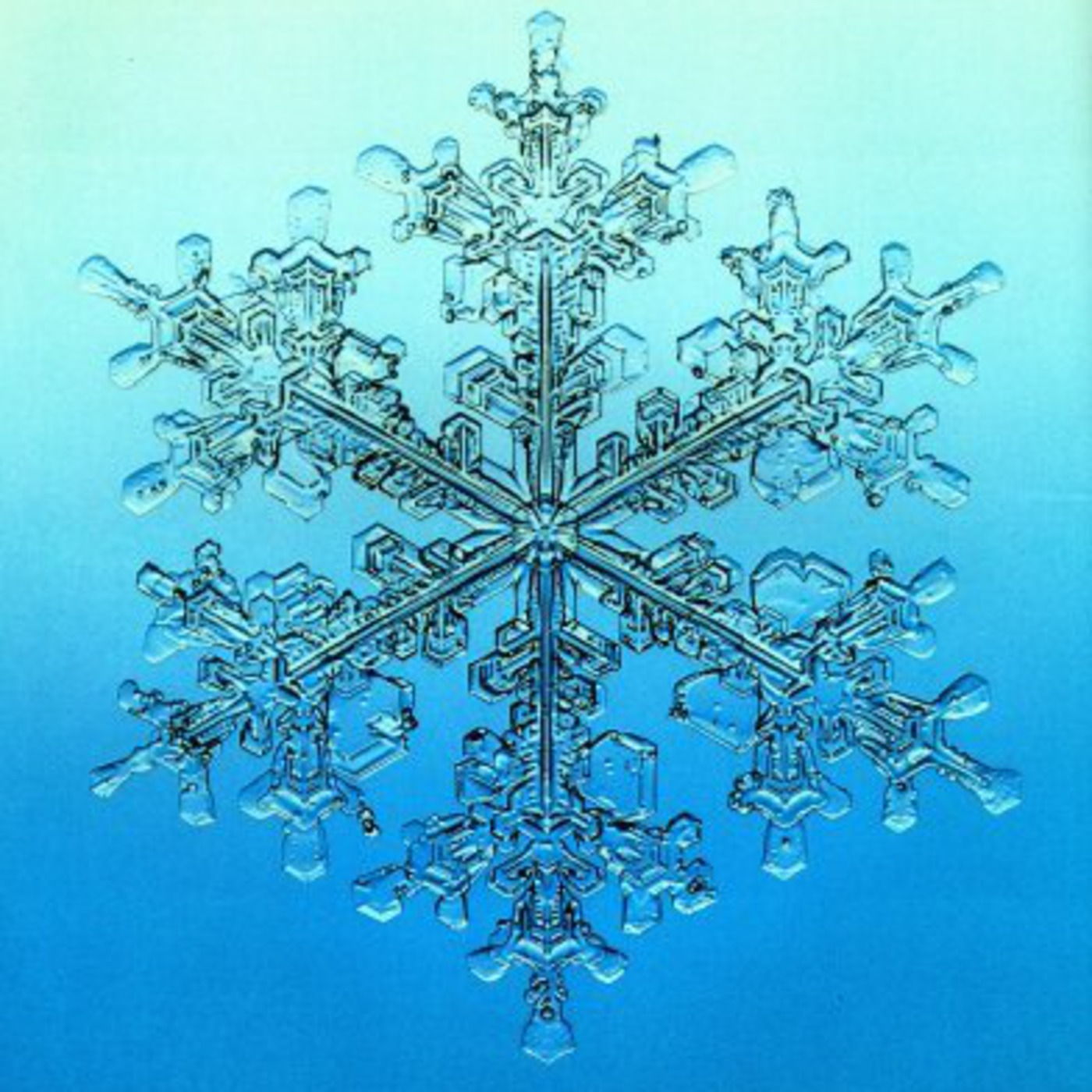 Снежинка коха как сделать
