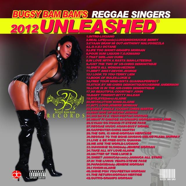 REGGAE SINGER'S UNLEASHED 2012