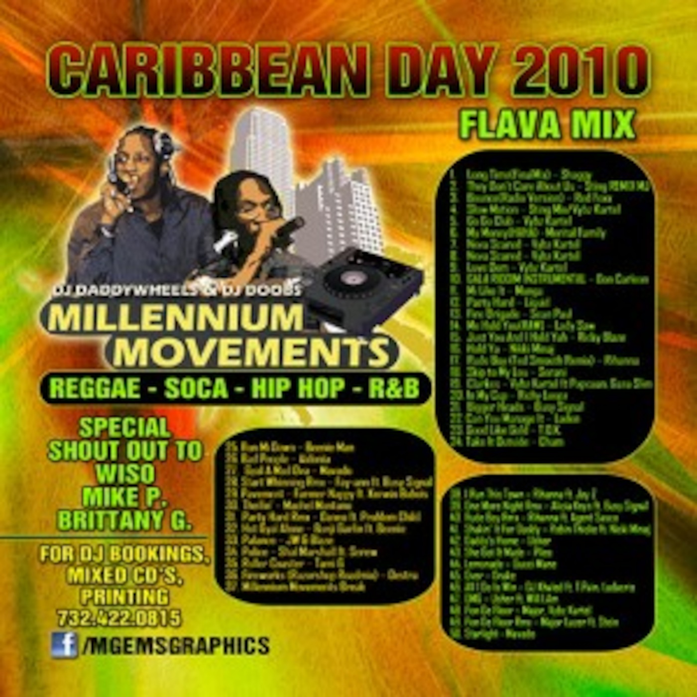 Caribbean Day FLAVA MIX - REGGAE | SOCA | HIP HOP | R&B - DJ