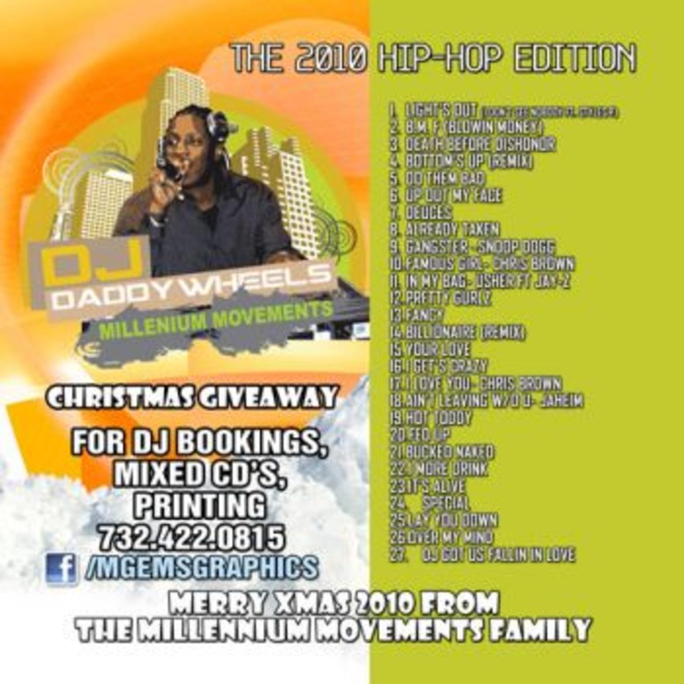 THROWBACK - BEST OF 2010: Hip-Hop Edition - DJ DADDYWHEELS DJ