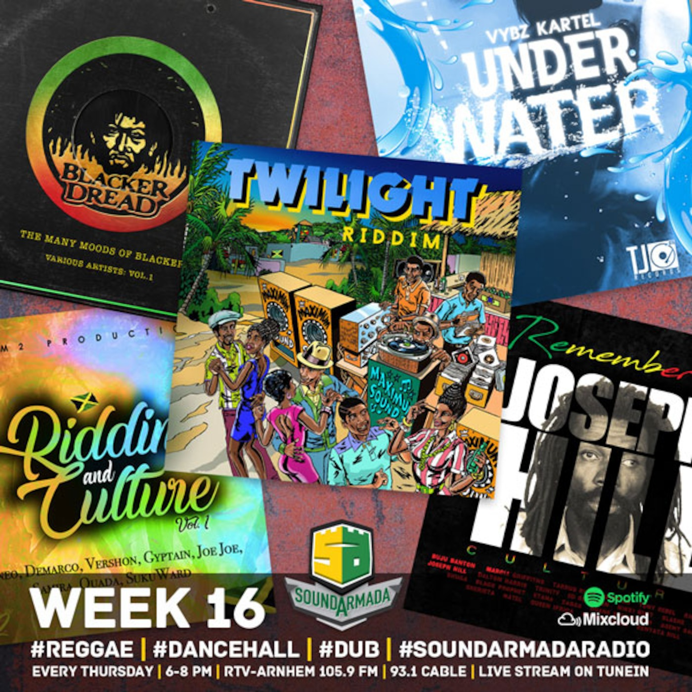 Sound Armada Reggae Dancehall Radio Week 16 2018 SOUND ARMADA RADIO