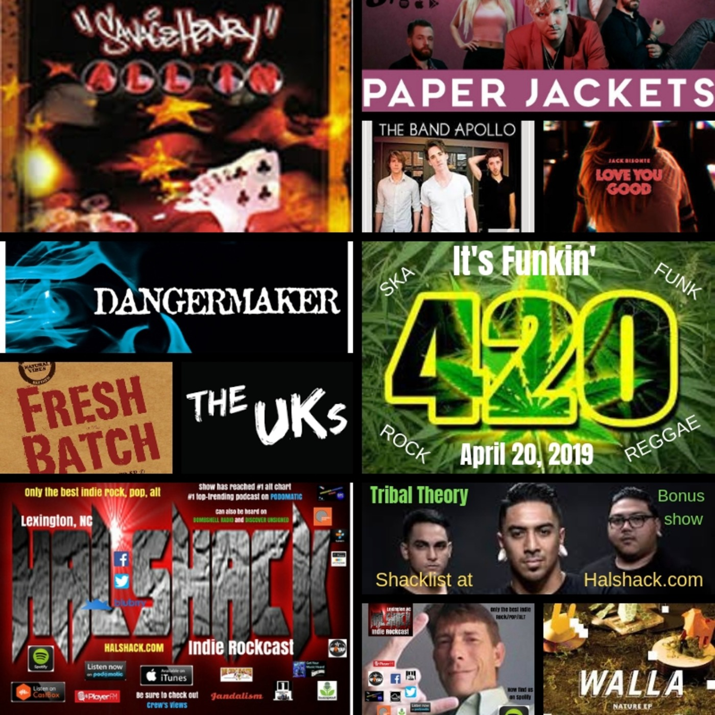 Halshack (ep 14.5) It's Funkin' 420 (April 20, 2019) bonus show