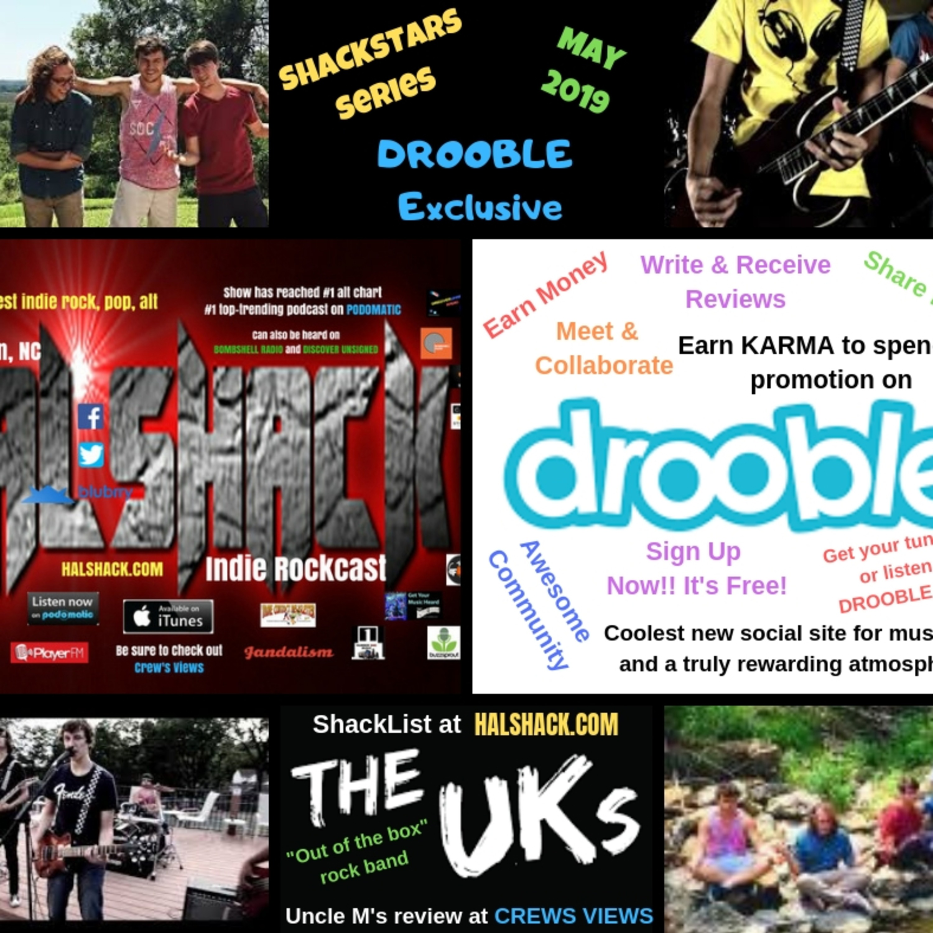 Halshack (The Uk's) Kansas City, MO-- Shackstars series (Drooble excl) now on Podomatic 6/30/19