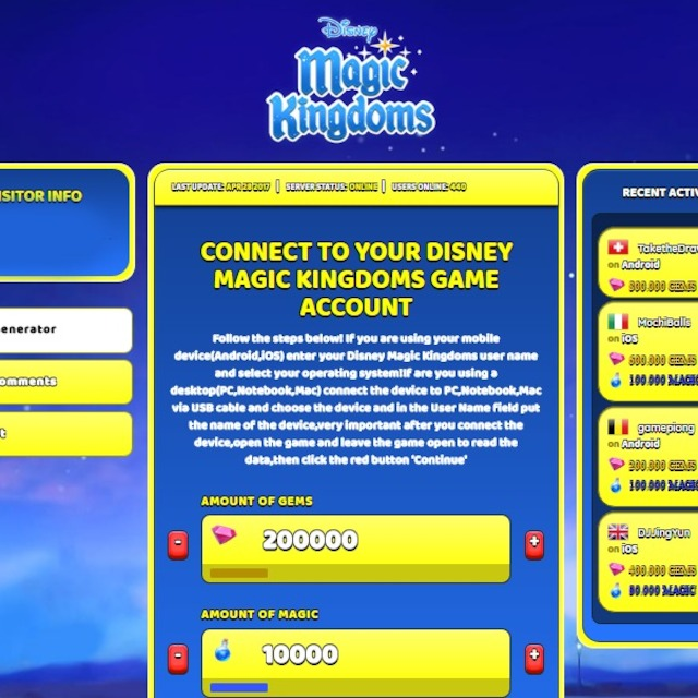 <b>Disney Magic</b> Kingdoms Hack <b>Cheat</b> Online Generator Gems and <b>Magic</b> ...