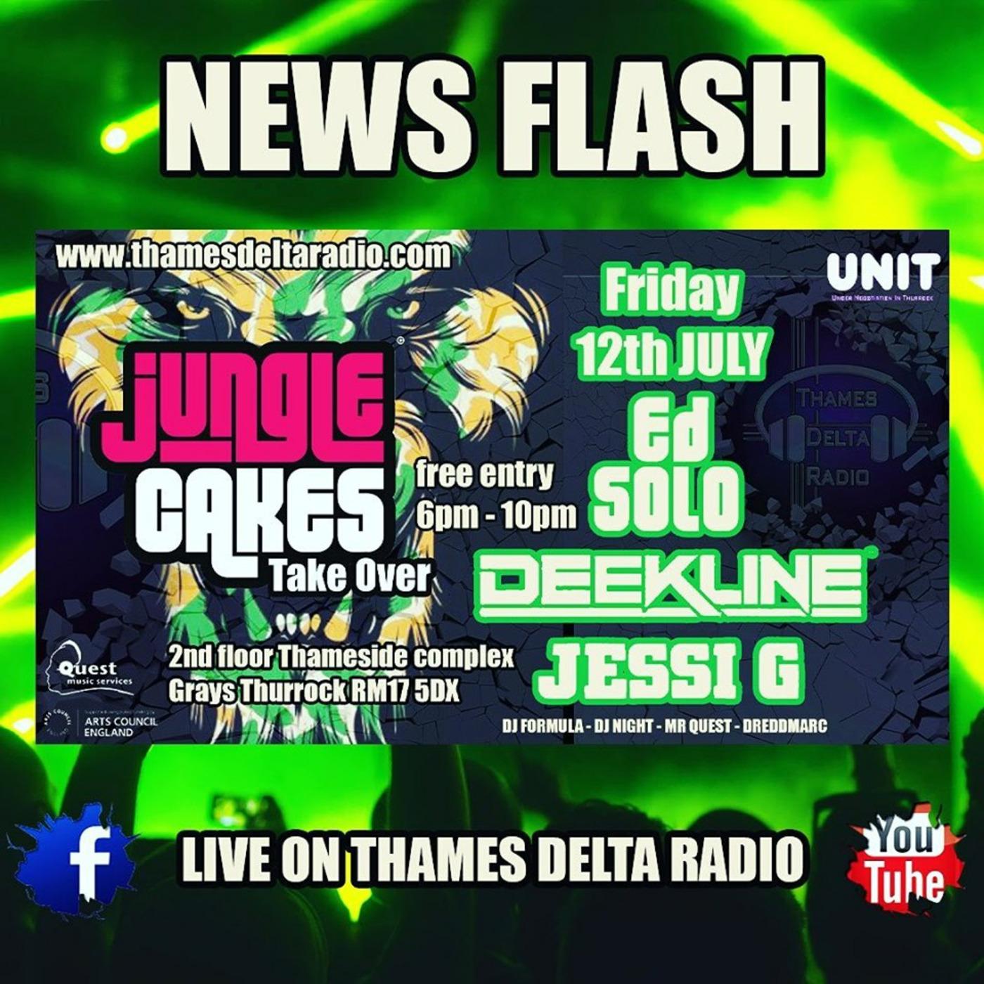 Ed Solo Jungle Cakes Take Over MR QUEST JUNGLE DnB PODCASTS podcast