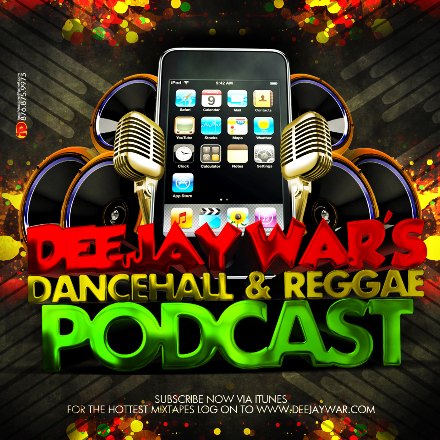 DJ War's Dancehall & Reggae Podcast