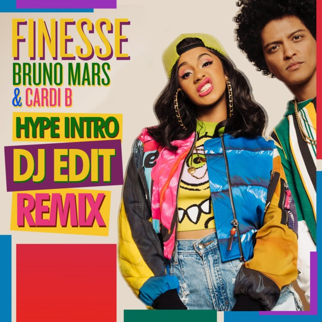Bruno Mars ft  Cardi B - Finesse (DJ EDiT Hype Intro)