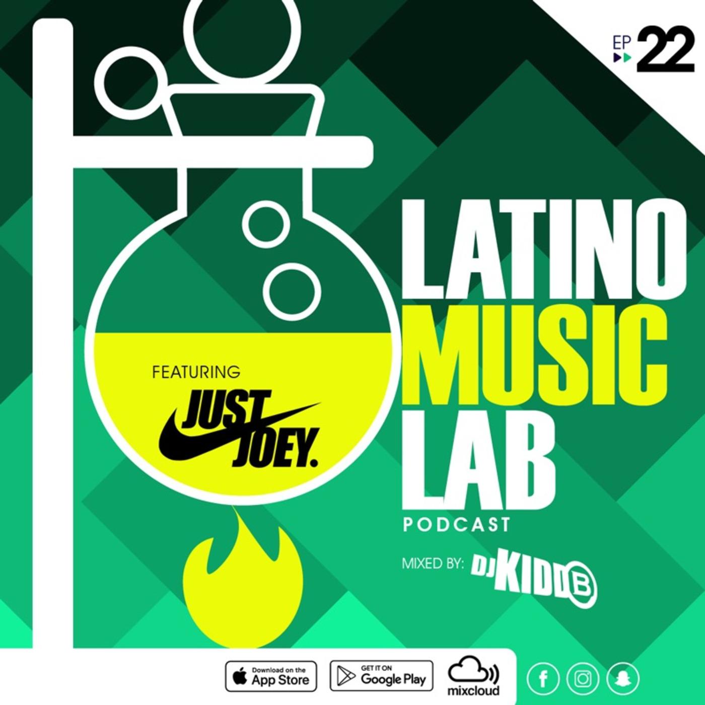 Latino Music Lab EP  22 ((Ft  DJ Just Joey)) Latino Music