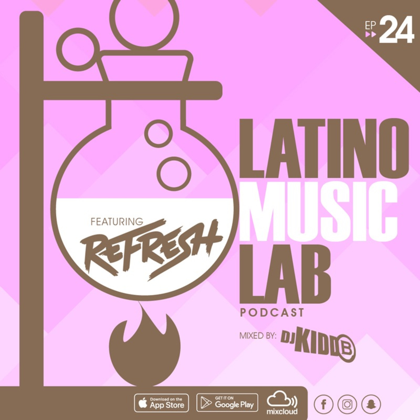 Latino Music Lab EP  24 ((Ft  DJ Refresh)) Latino Music Lab