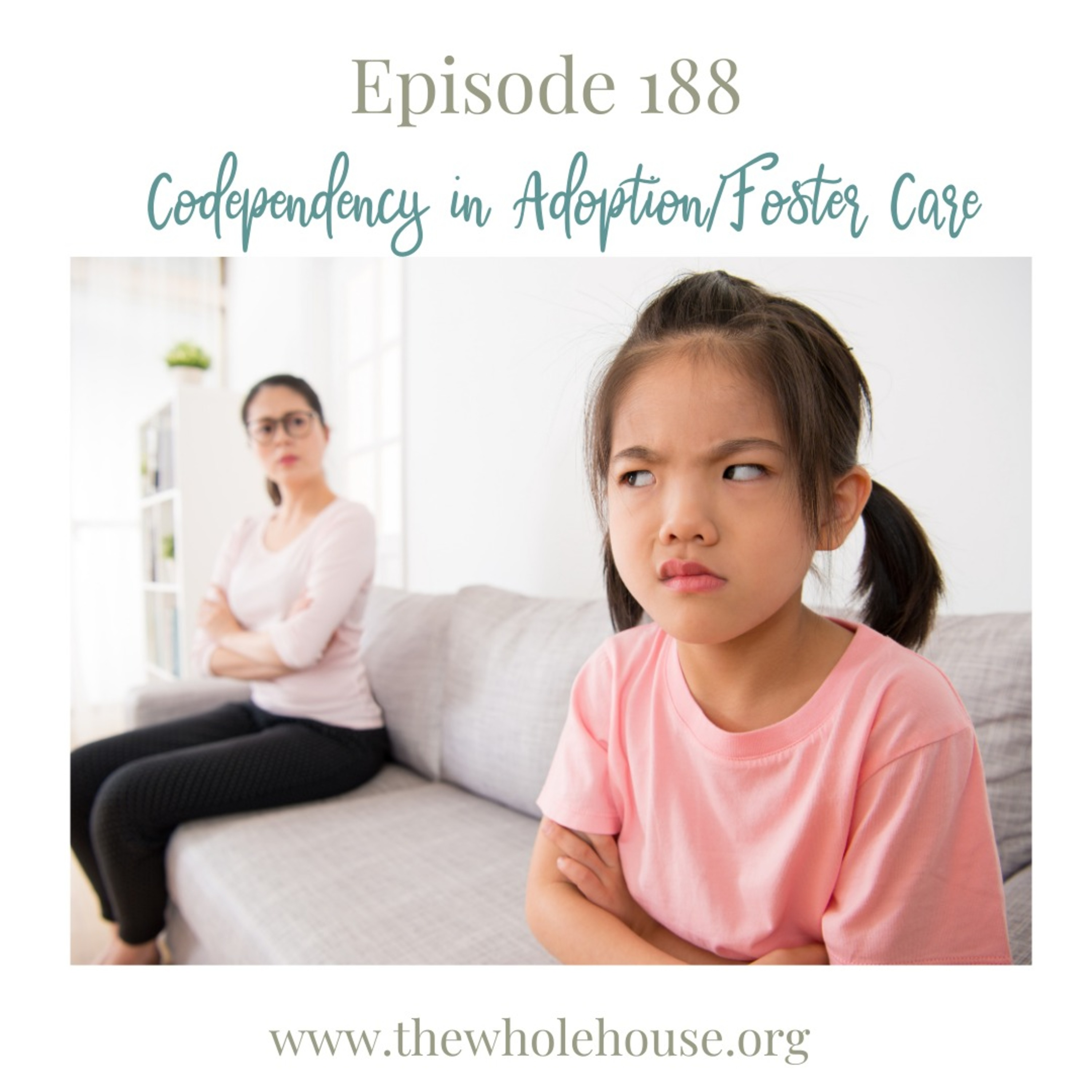 Episode 188 -Codependency in Adoption/Foster Care