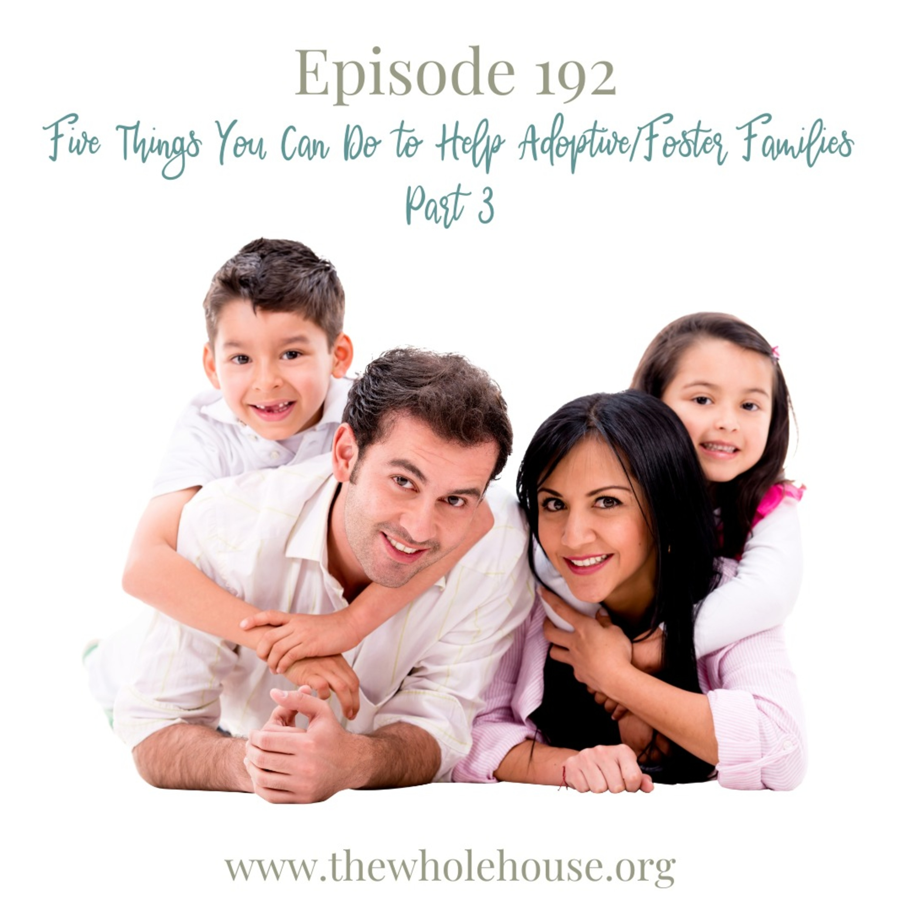 Five Things You Can Do to Help Adoptive/Foster Families Part 3