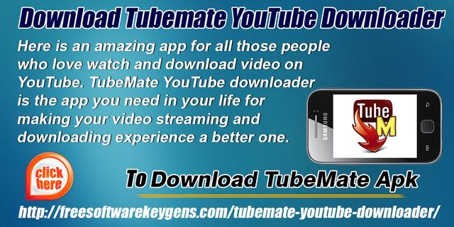 Download Tubemate YouTube Downloader