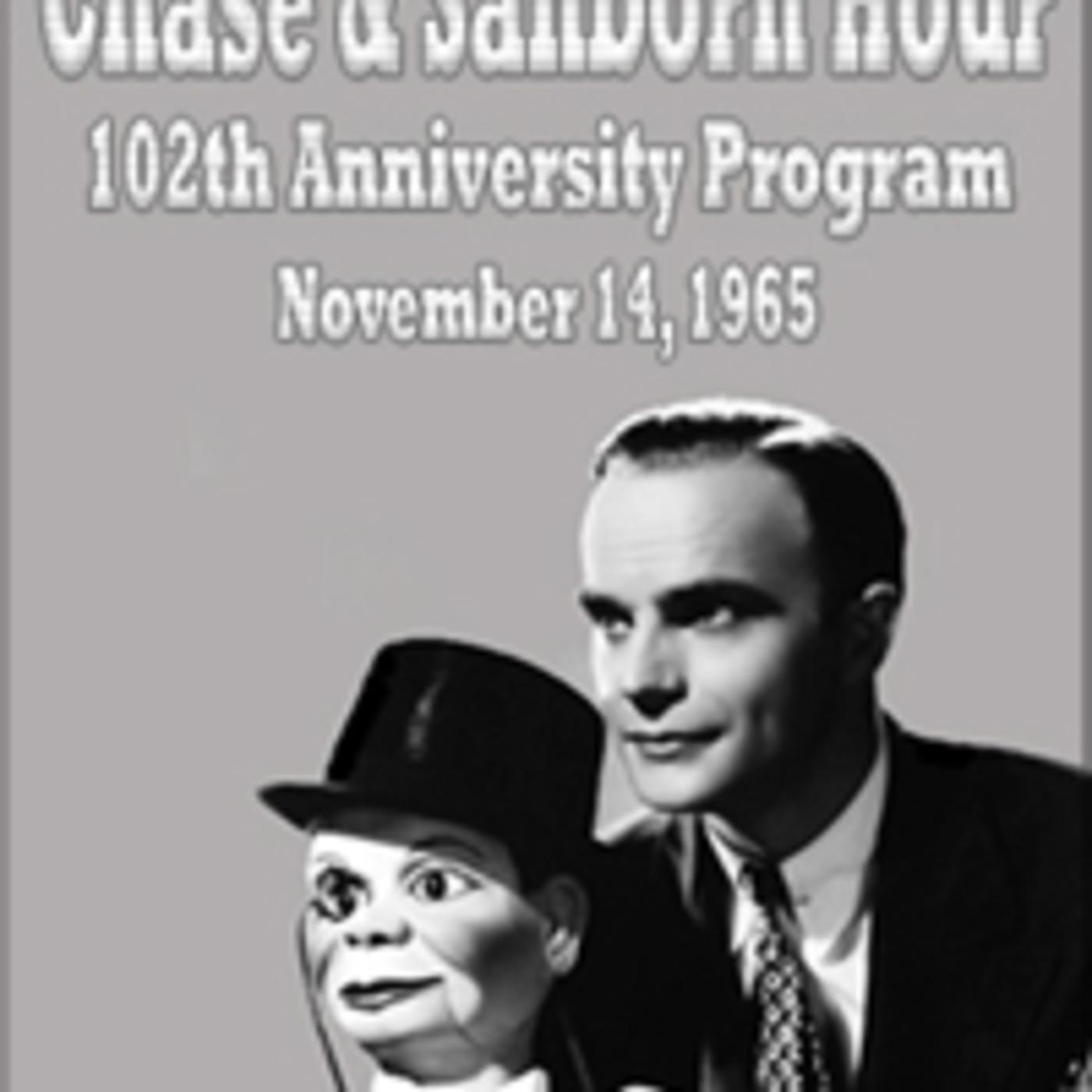 Chase & Sanborn Hour - 102th Anniversity Program (11-14-65)