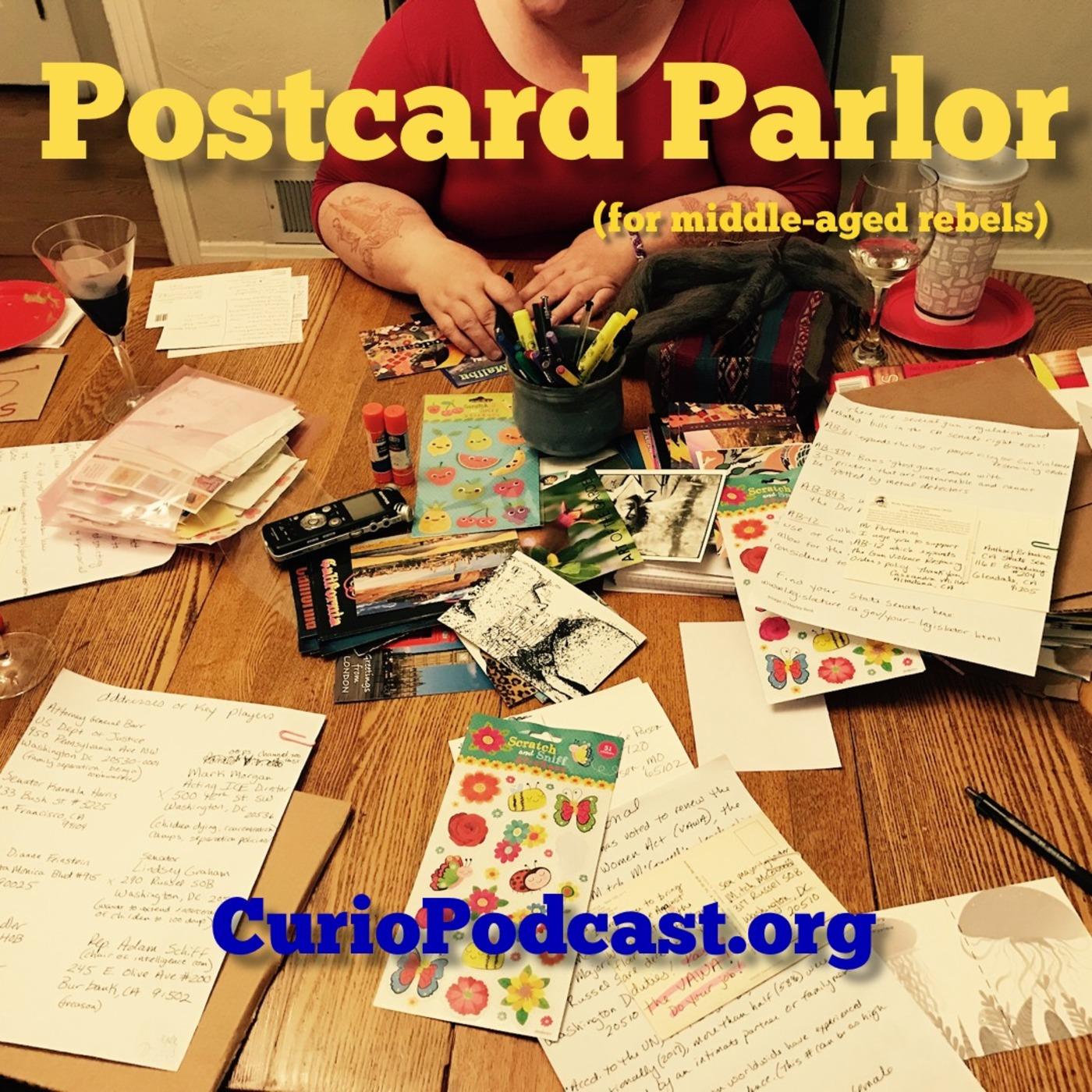 Postcard Parlor (for middle-aged rebels)