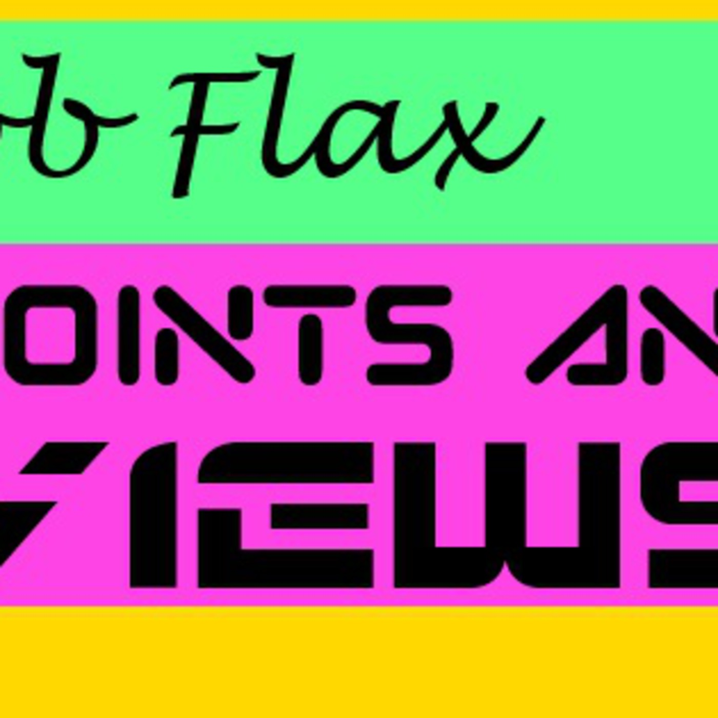 Jacob Flax's Points and Views' Podcast