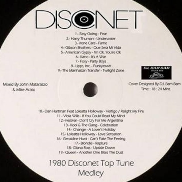 DISCONET TOP TUNE MEDLEY 1980 (FERMIX EXTENDED)