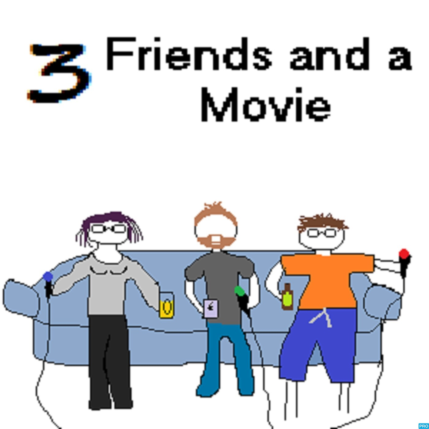 3 Friends And A Movie