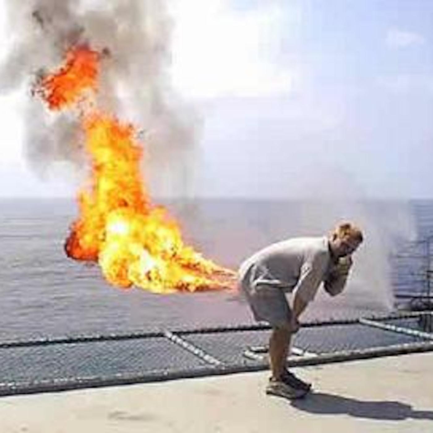 Жопа в огне