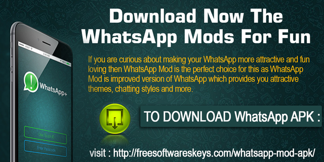Download Now The WhatsApp Mods For Fun