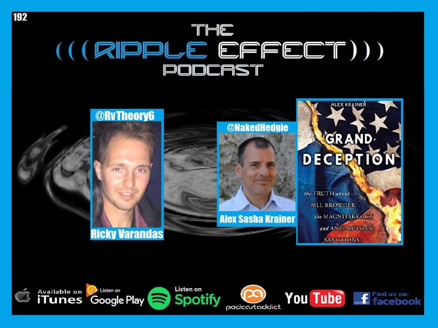 The Ripple Effect Podcast #192 (Alex Krainer | Grand Deception: The