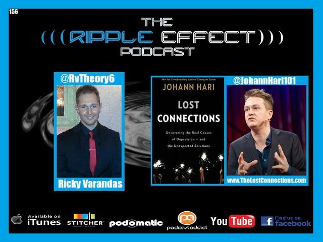 The Ripple Effect Podcast #156 (Johann Hari | Lost