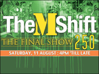 The M Shift [250] - The Final Show - hosted live from V Bar, Sydney