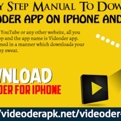 Step By Step Manual To Download Videoder App On IPhone And