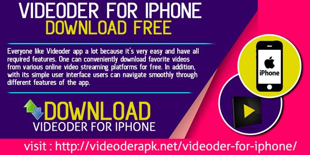 download free videoder