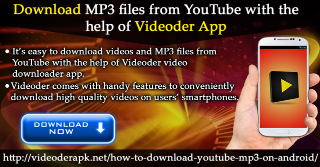 Download MP3 Files From YouTube With The Help Of Videoder App | Free