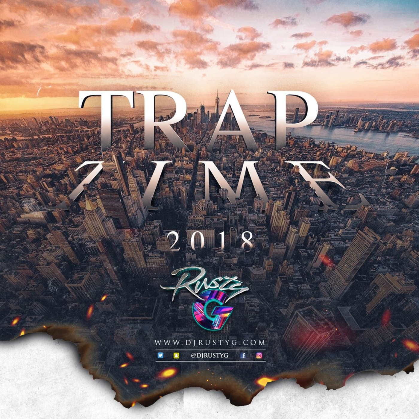 Trap Time 2018 (Hip Hop Mix) DJ Rusty G's podcast