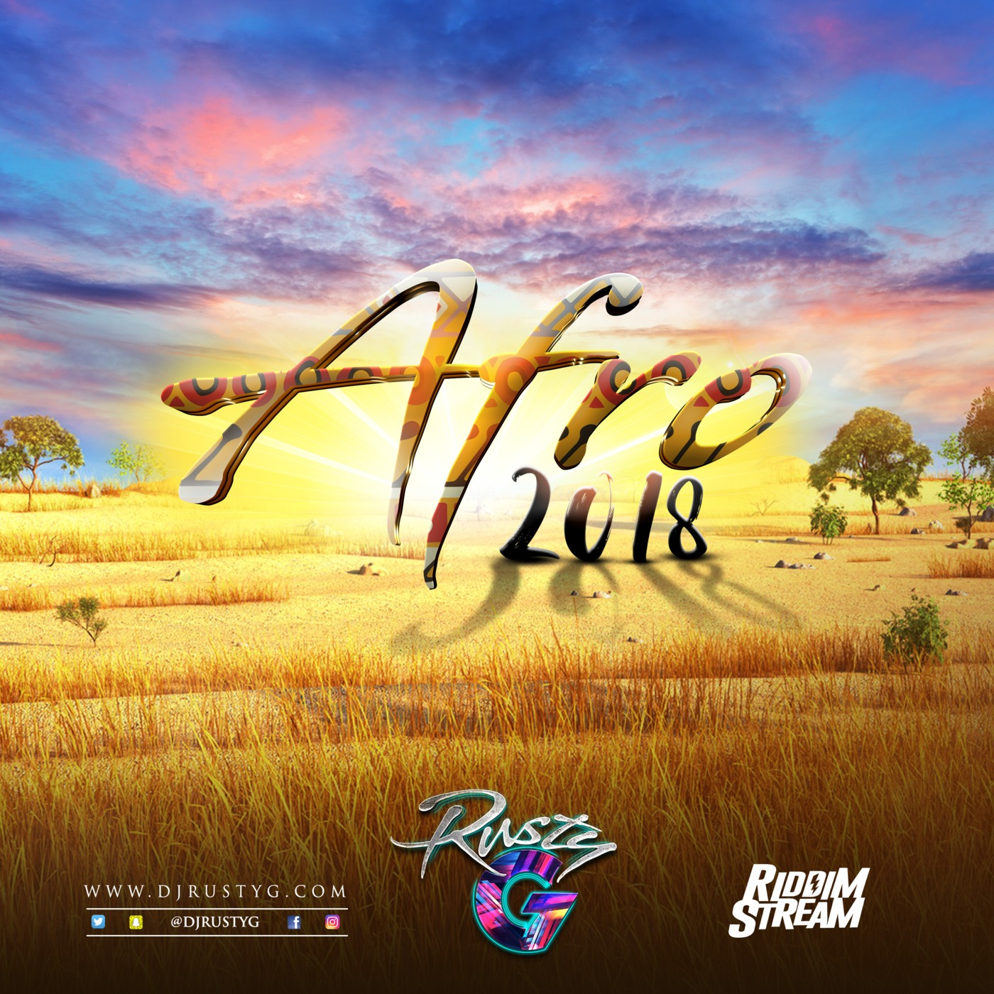 Afro 2018 (Afrobeat Mix) DJ Rusty G's podcast